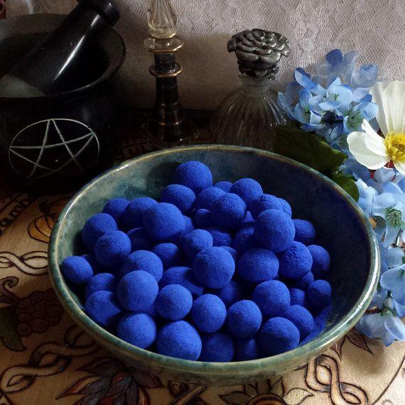 Bluing Balls Blue Balls Hoodoo Blue Anil Balls  by TheShabbyWitch, $4.35