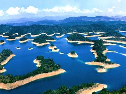千島湖 at China