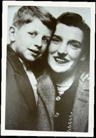 """Well that's me and my mum, I love that picture, I don't know, what am I, six? The woman loved every second of my life, and remembered every second of my life. Ah, she was just the best."" Ringo Starr."