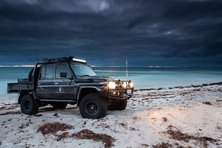 Toyota Land Cruiser 70 series...my ultimate dream vehicle...gotta take a trip to Australia to acquire one of these bad boys! www.landcruiseroftheday.com