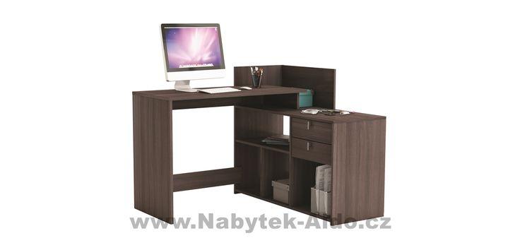 Rohový psací stůl Vista 357205