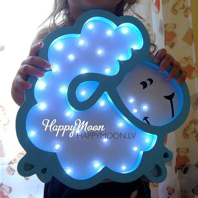Наш воздушный барашек это #мимими #ночник #барашек #ночники #happymoonfamily #нашдизайн