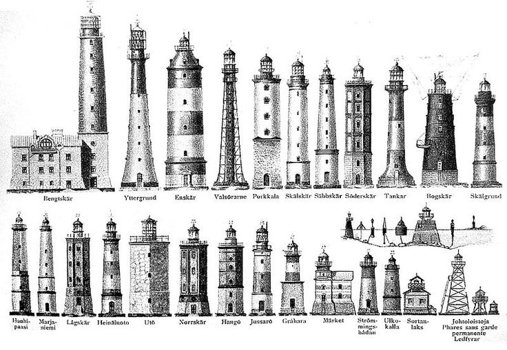 Lighthouses: Lighthouses Comparison, Lighthouses Design, Free Lighthouses, 1909 Lighthouses, British Lighthouses, Lighthouses Photos, Lights Houses, Lighthouses Drawings, Faro Lighthouses
