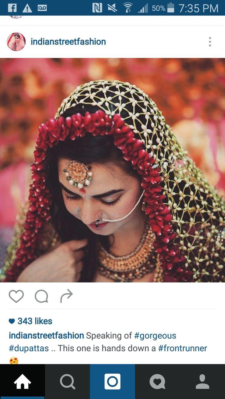 Floral veil Flower jewellery for haldi, Fresh flower