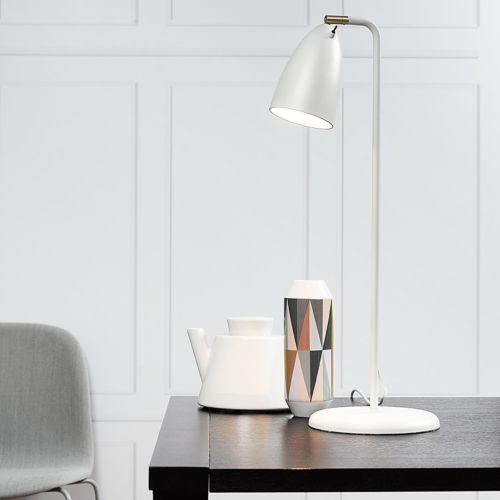 Tischleuchte-Nexus-10-Metall-Kunststoff-Weiss-TISCHLAMPE-TISCH-LEUCHTE-LAMPE