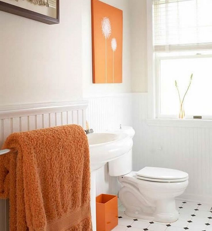 Bathroom Orange White Small Modern Master Bathroom Ideas Vanities And Sinks Cheap Bathroom Decorating Ideas Lovely  Colored Small Spaces Bathroom