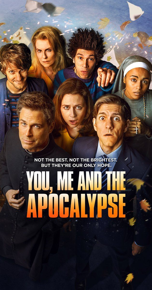 Created by Iain Hollands. With Mathew Baynton, Jenna Fischer, Joel Fry, Gaia Scodellaro. When a group of ordinary people learn that an eight-mile wide comet is on a collision course with Earth, they hunker beneath the town of Slough to watch the end of the world on television.