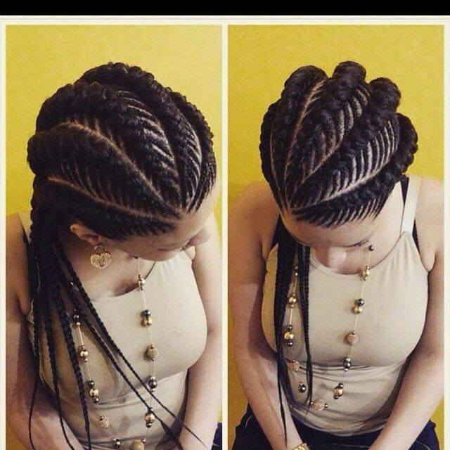 These braids!!