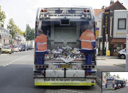 Case:Bus Guerrilla Marketing 「バス」の車体を全面に使ったゲリラマーケティングをご紹介します。 大型バスの車体ならではの面白い表現が多々あります。内容もさることなが