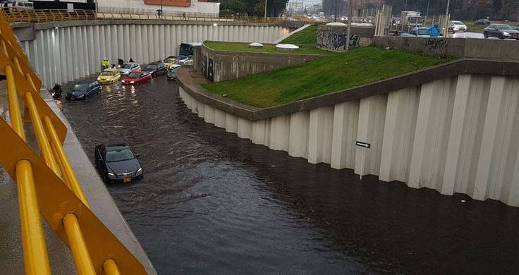 Vuelve y juega: El deprimido de la 94 se inundó por segunda vez en Bogotá