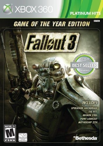 Fallout 3: Game of The Year Edition – Bethesda.  One of my all time favorites.  Why? You're the Mysterious Stranger:  lots of perks (regenerate in sunlight anyone!?), a cool name, a post-apocalyptic bachelor pad, a dog philosophically named Dogmeat and an unlimited supply of Nuka-Cola. Why wouldn't you be the Mysterious Stranger?