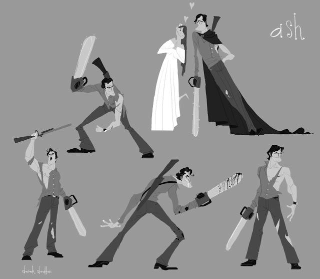 Ash sketches - Derek Stratton