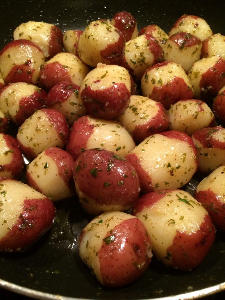 How to Make Lemon Buttered Potatoes - this looks really good!