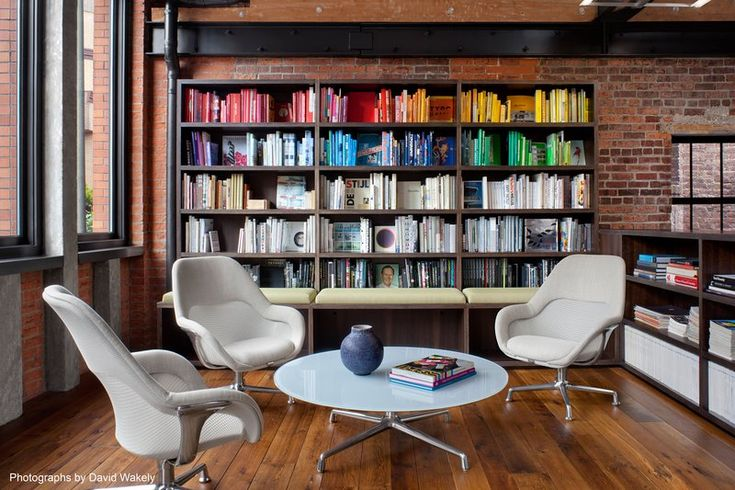 Tolleson Design with SW_1 Lounges and Occasional table by Coalesse
