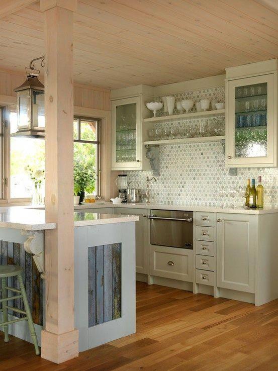 Small Beach House Kitchen Designs Little Beach Kitchen
