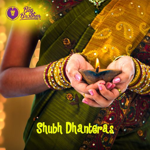 #BigBrotherFoundation wishes Happy #Dhanteras to all