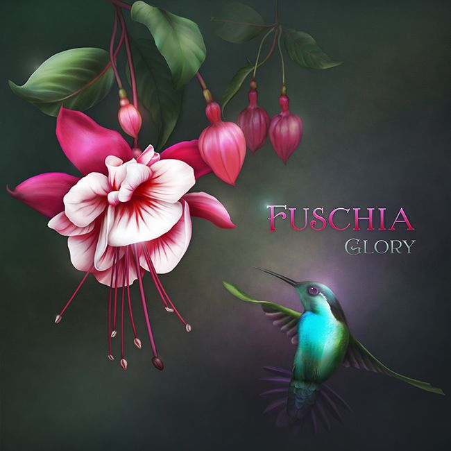 "Jaguarwoman's ""Fuschia Glory"""