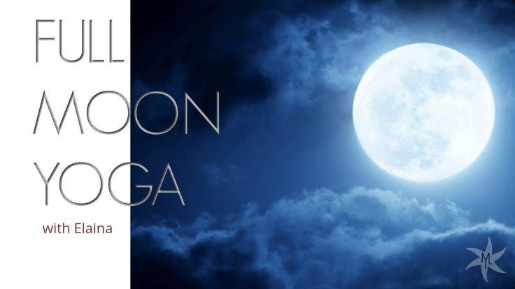 🌕Super Blue Blood Full Moon Lunar Eclipse Yoga Flow with Elaina Maui | Yoga | Live #yoga #fullmoon #supermoon #bluemoon #2018