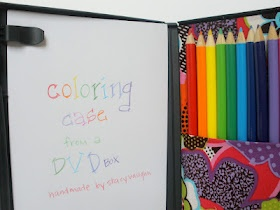 handmade by stacy vaughn: dvd coloring caseDvd Colors Boxes, Dvd Boxes, Kids Stuff, Vini Baby, Crafty Fun, Dvd Cases Crafts, Cd Cases, Colors Cases, Stacy Vaughn
