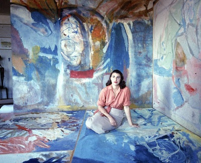 """""""I wanted things that I couldn't at times articulate.""""  -Helen Frankenthaler: Fabulously Artists, Artists Studios, Art Studios, Frankenth 1956, Frankenth Portraits, Byhelen Frankenth, Helen Frankenthaler, Abstract Expressionist, Women Artists"""