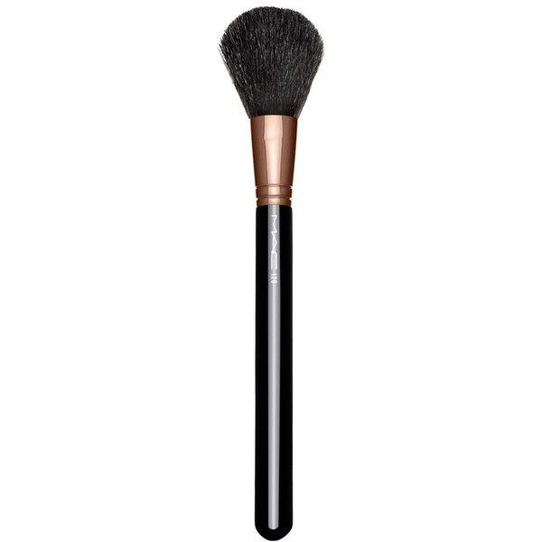 Ellie Goulding for M·A·C 129 Powder/Blush Brush (Limited Edition) ($38) ❤ liked on Polyvore featuring beauty products, makeup, makeup tools, makeup brushes, beauty, cosmetics, mac cosmetics, blush makeup brush and blush brush