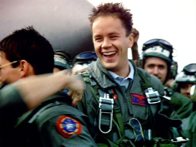 """Tim Robbins as Lt. Sam """"Merlin"""" Wells in Top Gun (1986 ..."""