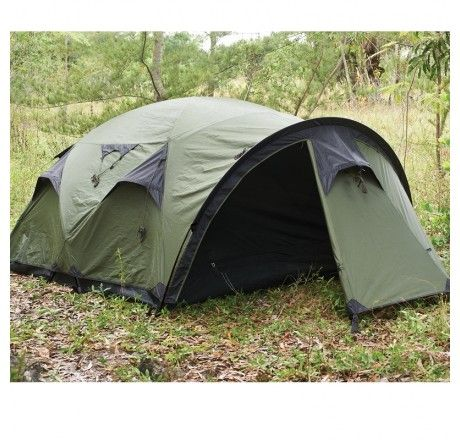 Snugpak Cave Waterproof 4 Person Tent in Olive - Camping and Survival Gear