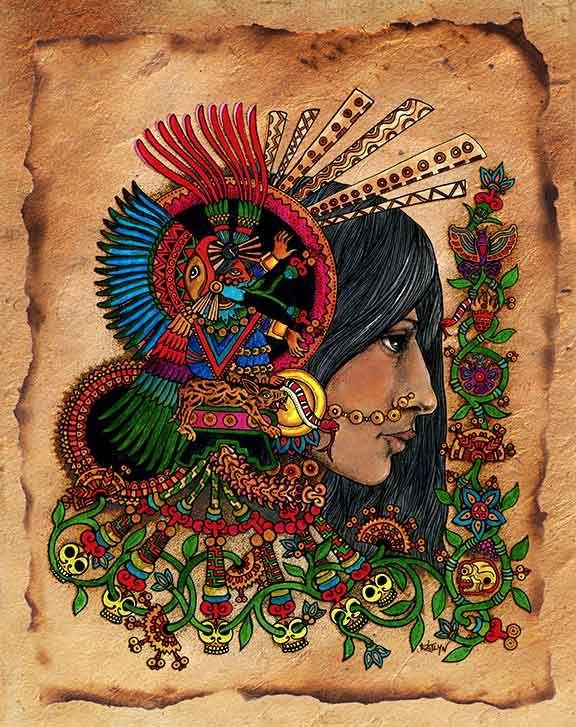 26 best Cultura images on Pinterest | Aztec art, Aztec ...