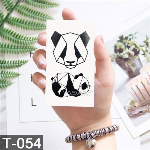 Geometry cool Temporary Tattoo Sticker Women Minimalist lines pattern Body Art N… – Tattoo Pattern