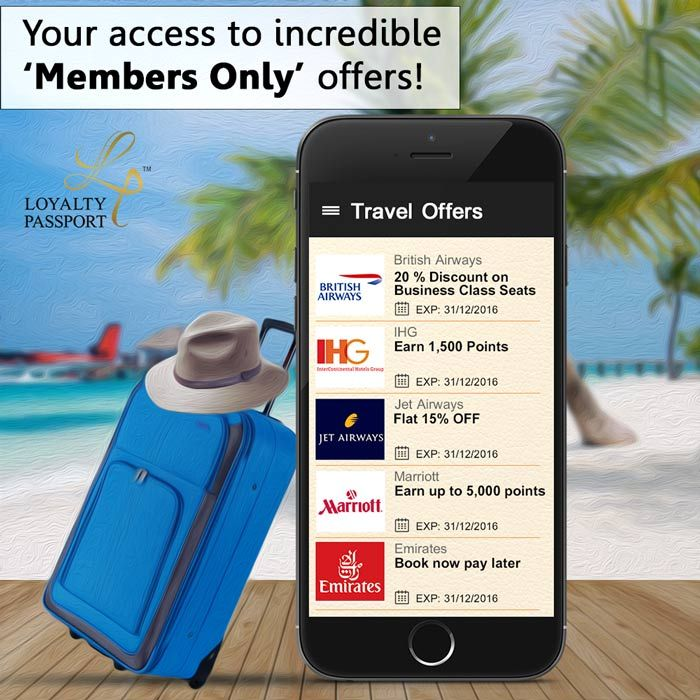Enjoy exclusive members only offers every time you travel, from over 65+ #TravelLoyaltyPrograms via #LoyaltyCardApp for Android: https://play.google.com/store/apps/details?id=com.mobile.loyaltypassport Apple: https://itunes.apple.com/us/app/loyalty-passport/id1087256868?ls=1&mt=8r