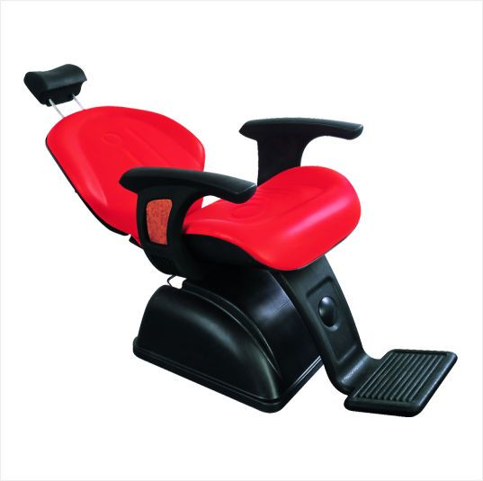 Red styling salon barber chairs for barber shop equipment with elegant appearance MX-166A $80~$200