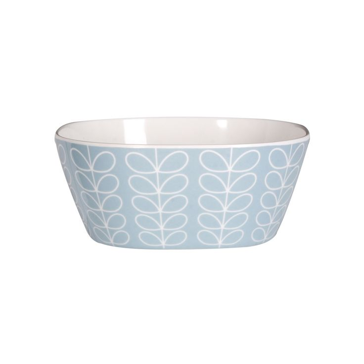 Buy Orla Kiely Linear Stem Blue Small Bowl | Amara