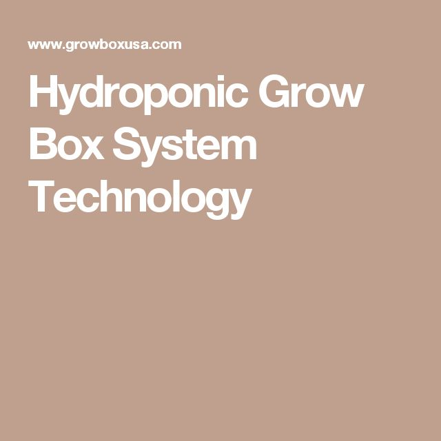1000 Ideas About Hydroponic Growing On Pinterest