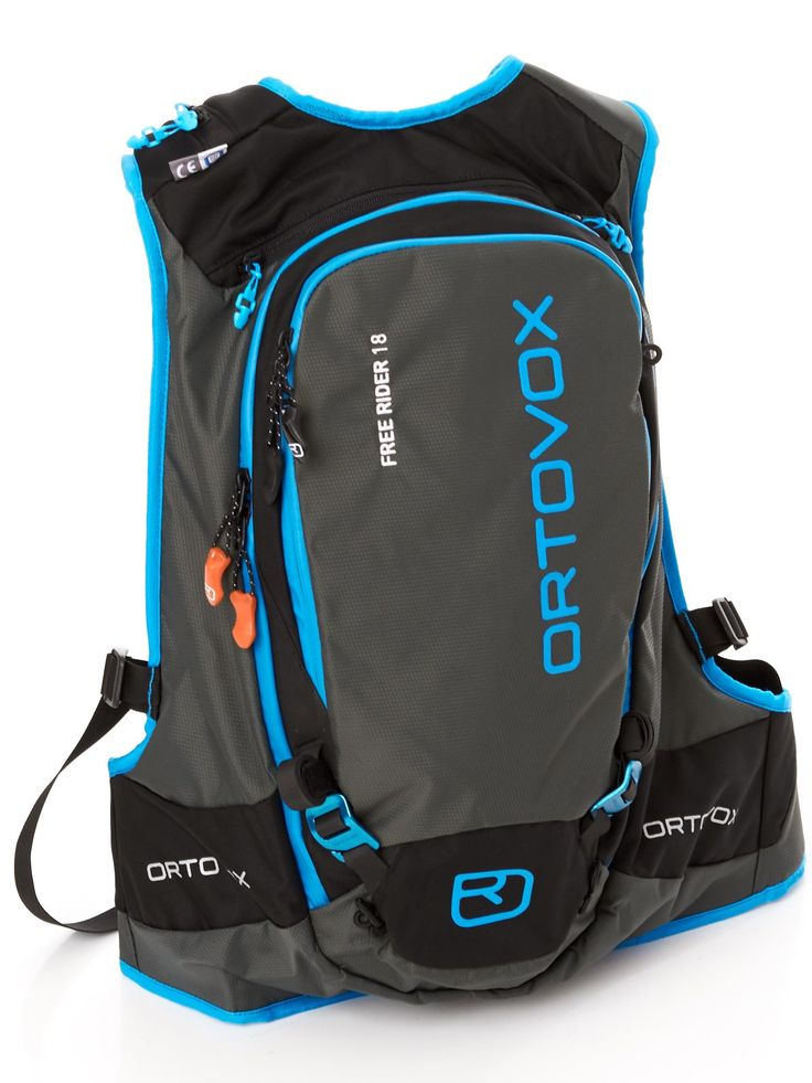 Ortovox Black Free Rider 18 Litre Snowboarding Backpack   Ortovox   FreestyleXtreme America   United States