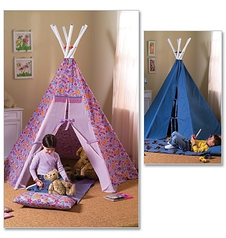 Baby Baby Baby room: Ideas, Butterick 4251, Kids Room, Teepees, Baby Room, Diy, Crafts, Sewing Patterns