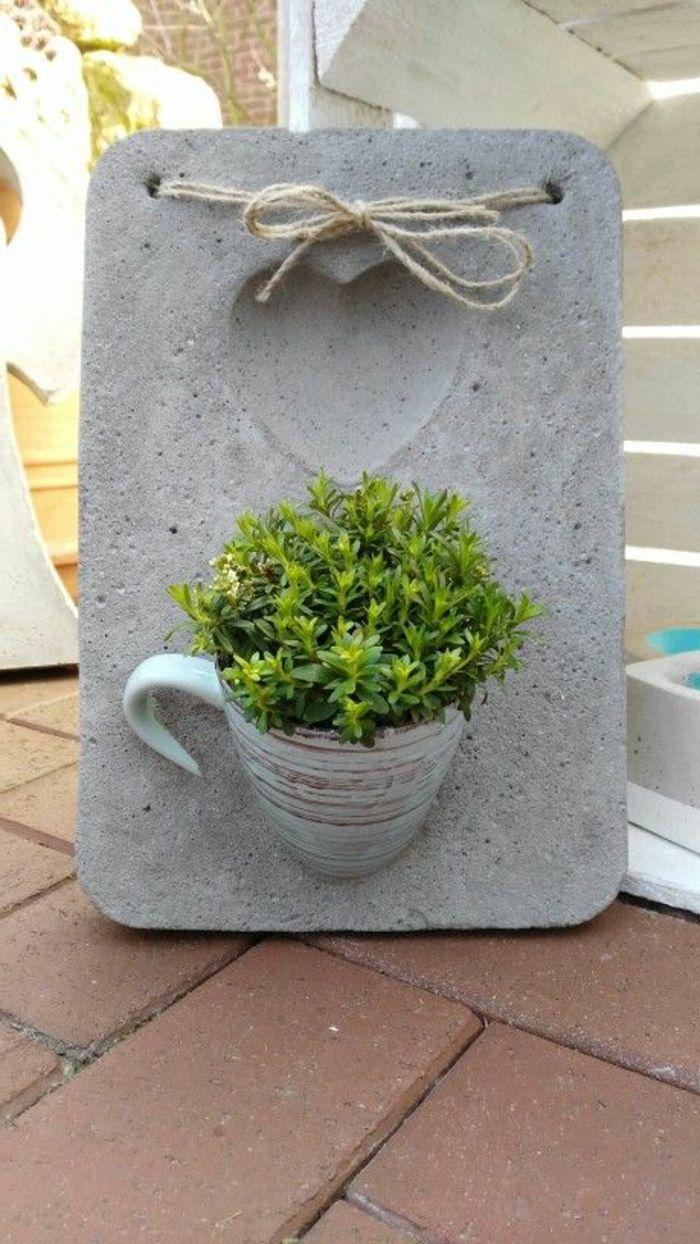 1001 Ideen Zum Thema Basteln Mit Beton Garten
