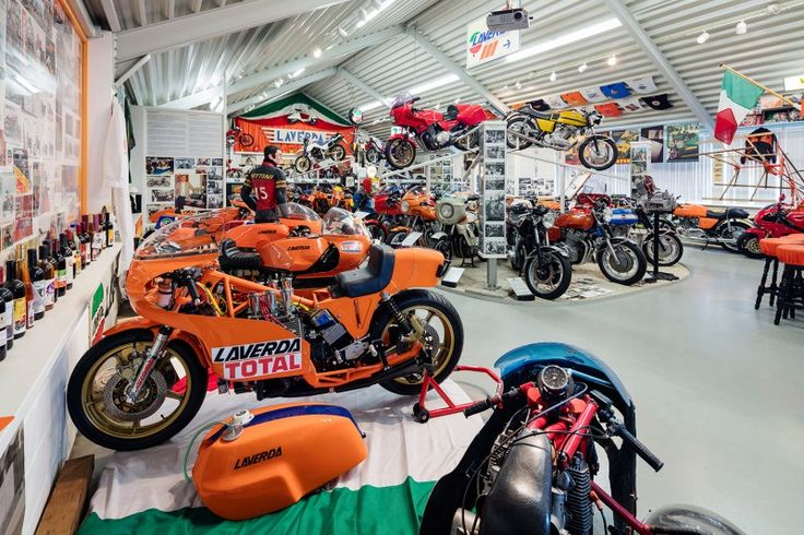 VIA THEMA - Laverda Museum - Cor Dees Motorcycle Collection for Sale - viathema.com