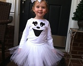 Girl Ghost Halloween costume, you could totally turn this into an adult costume