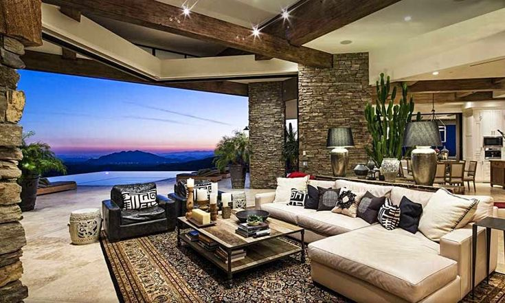 Desert Mountain Retreat / Architector, Scottsdale, Arizona, EE.UU. http://www.arquitexs.com/2014/07/desert-mountain-retreat-architector.html #casasdecampoconalberca