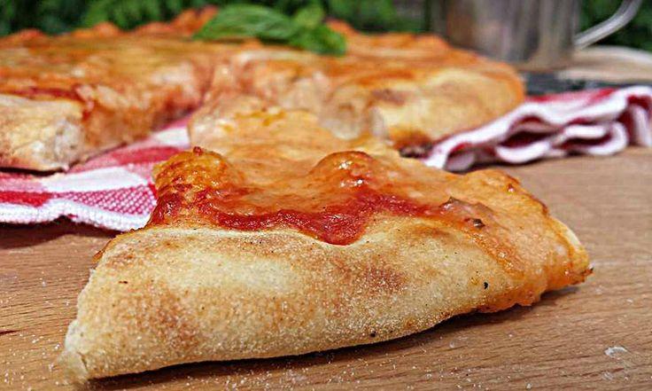 Pizza con un solo grammo di lievito