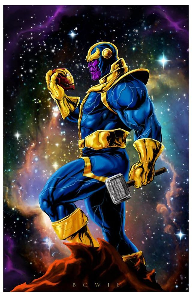 Anime Characters Vs Thanos : Best thanos images on pinterest marvel villains