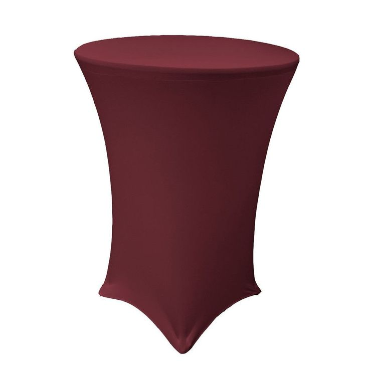 Spandex round cover for high cocktail table products for Cocktail tables high