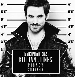 Once Upon a Crime II Killian Jones Is it bad that the first thing I looked at was to see if he was over six feet?