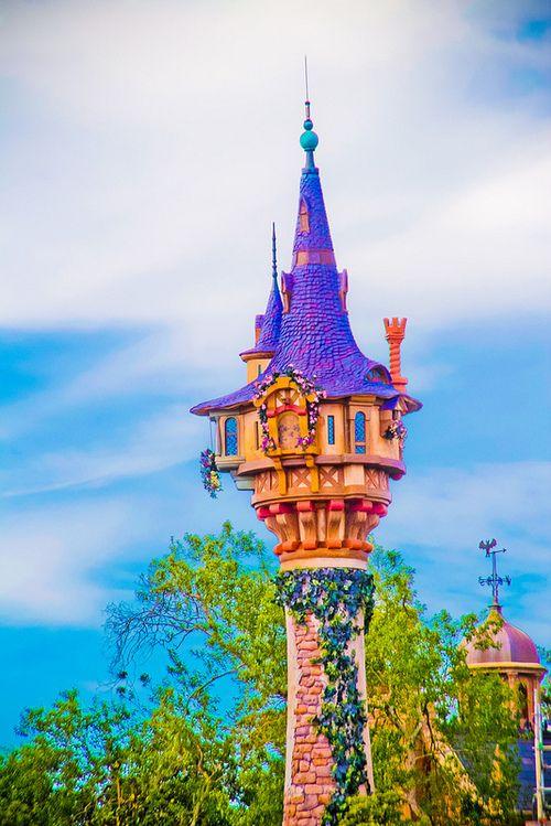 Repunzel S Tower Walt Disney World Tangled Disney