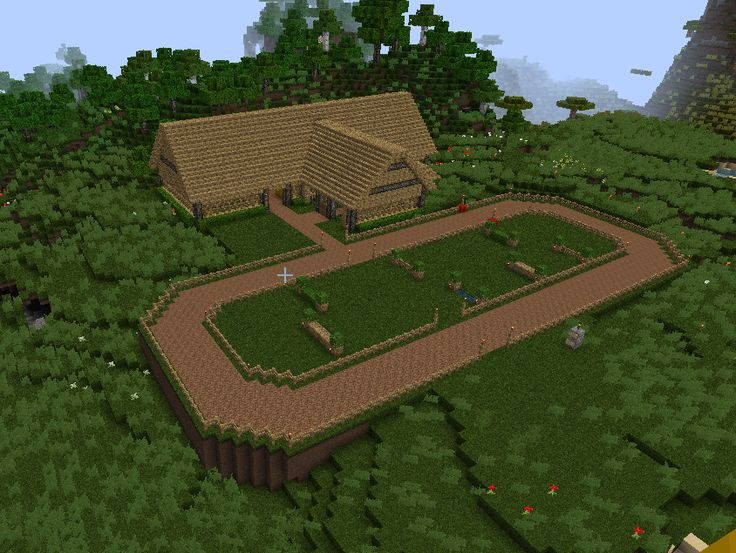 25 best ideas about minecraft furniture on pinterest for Horse farm house plans