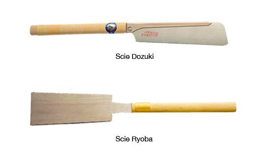 5. Scie japonaise (Ryoba ou Dozuki)