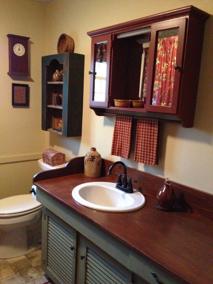 1000 Images About Primitive Bathrooms On Pinterest