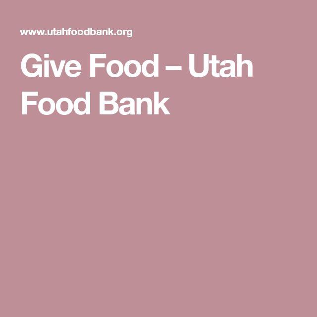 Give Food – Utah Food Bank