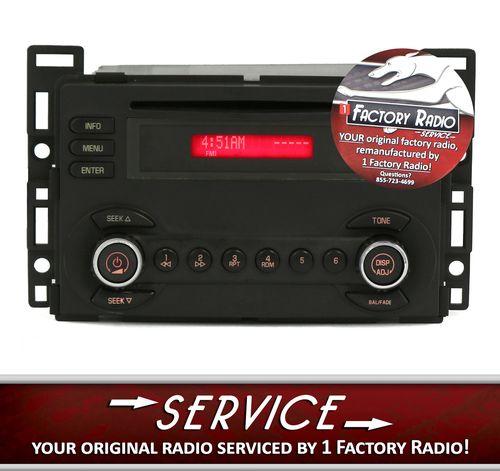 Remanufacture Service For 200607 Pontiac G6 Am Fm Radio Cd Player Rhpinterest: Pontiac G6 Factory Radio At Gmaili.net