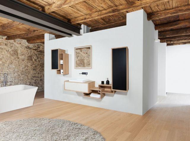 Decoration Chambre En Rouge Et Noir : 1000+ images about idee deco salle de bain on Pinterest